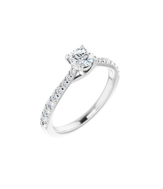 Willems Creations Lucy Solitaire Ring 0.45ct - 123230-W-45