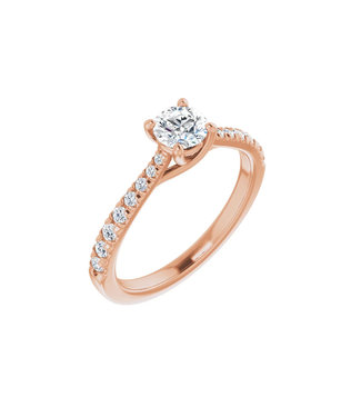 Willems Creations Lucy Solitaire Ring 0.45ct - 123230-R-45