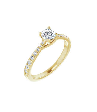 Willems Creations Lucy Solitaire Ring 0.45ct - 123230-Y-45