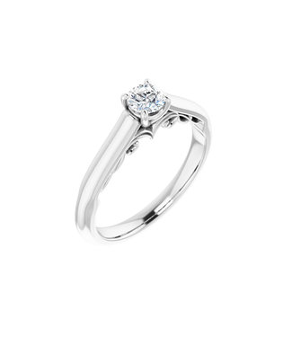 Willems Creations Josephine Solitaire Ring 0.25ct - 122903-W-25