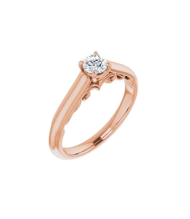 Willems Creations Josephine Solitaire Ring 0.25ct - 122903-R-25