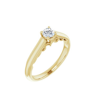 Willems Creations Josephine Solitaire Ring 0.25ct - 122903-Y-25