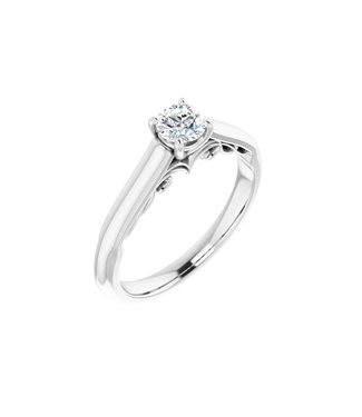 Willems Creations Josephine Solitaire Ring 0.35ct - 122903-W-35
