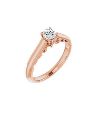 Willems Creations Josephine Solitaire Ring 0.35ct - 122903-R-35