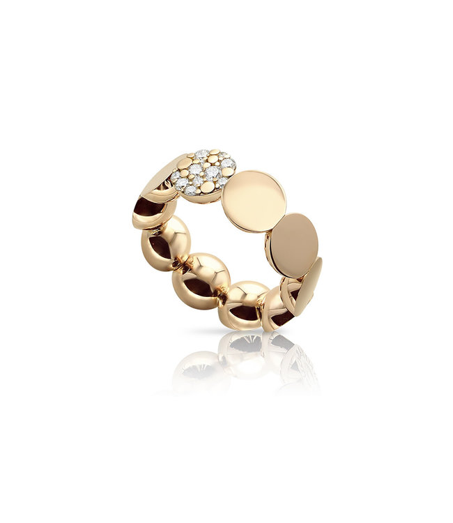 Pasquale Bruni ring Luce pink gold 16196R