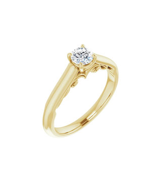 Willems Creations Josephine Solitaire Ring 0.35ct - 122903-Y-35
