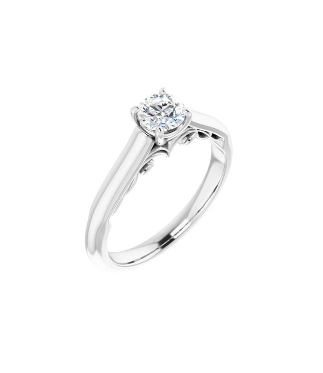 Willems Creations Josephine Solitaire Ring 0.45ct - 122903-W-45