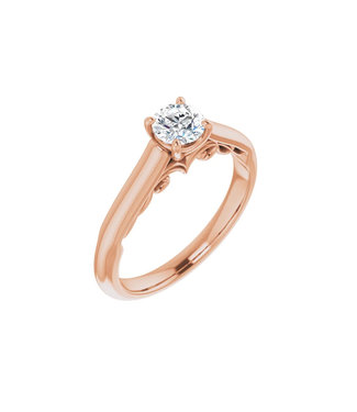 Willems Creations Josephine Solitaire Ring 0.45ct - 122903-R-45