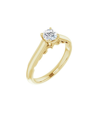 Willems Creations Josephine Solitaire Ring 0.45ct - 122903-Y-45