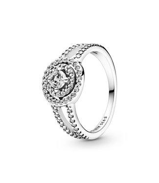 Pandora Sparkling Double Halo ring 199408C01