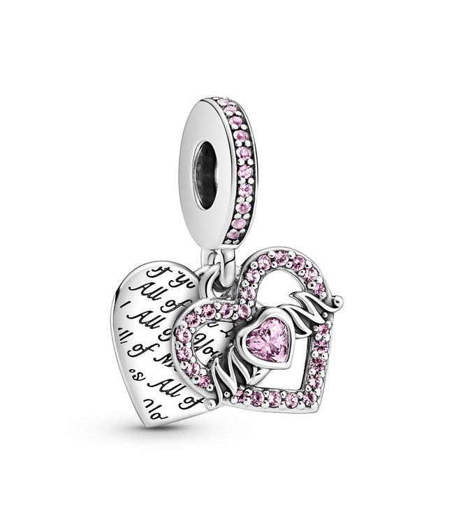 Pandora Heart & Mum dangle 799402C01