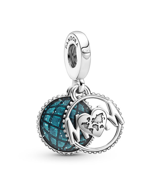 Pandora Glitter Globe Mum dangle 799368C01