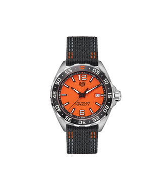 Tag Heuer Formula 1 Full Orange heren horloge WAZ101A.FC8305