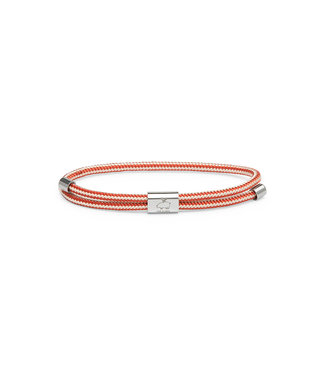 Pig & Hen Little Lewis - Ivory/Coral Red/Silver