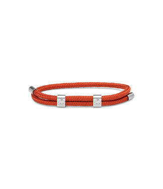 Pig & Hen Little Lewis - DBL Coral Red/Silver