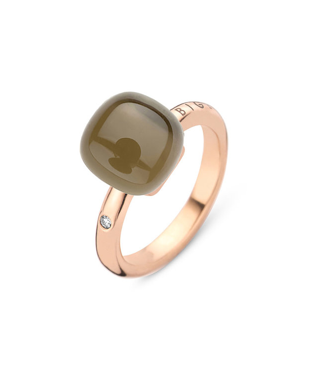 Bigli ring Mini Sweety - Kwarts met parelmoer 20R88Rsqmp 0.02ct