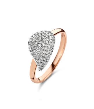 Bigli ring Mini Leaves 23R190RWdia
