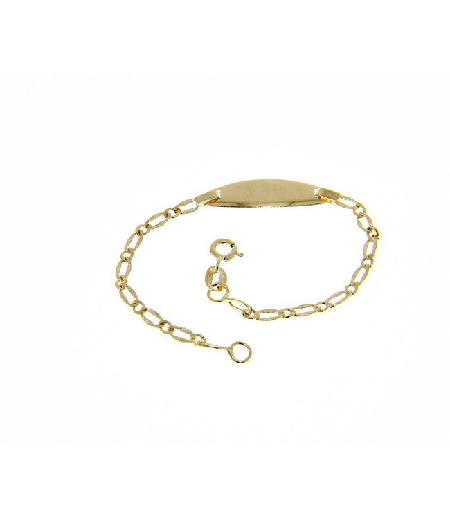 Willems Creations armband 18kt Identiteit VFA060GGT1