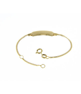 Willems Creations armband 18kt Identiteit 170767