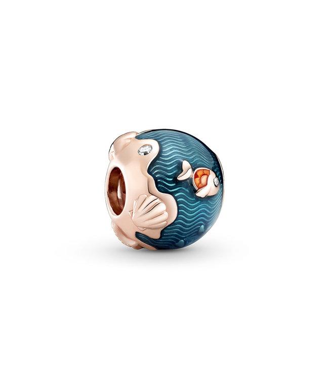 Pandora Shimmering Ocean Waves & Fish 789004C01