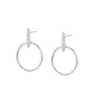 Diamanti Per Tutti Parrot earrings white M1314-1S4-P01
