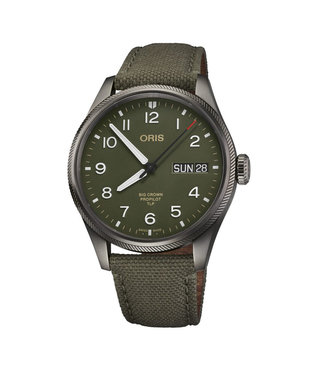 Oris Big Crown ProPilot TLP Automatic heren horloge Limited Edition 0175277604287-SET