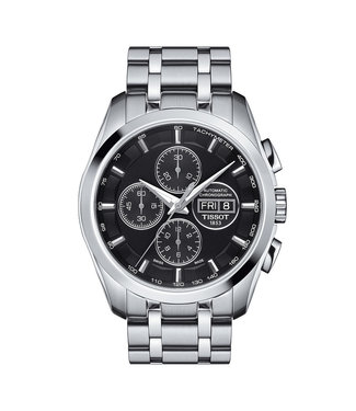 Tissot Couturier Automatic Chronograph heren horloge T0356141105101