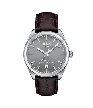 Tissot PR100 Powermatic 80 heren horloge T1014071607100