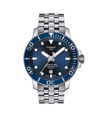 Tissot Seastar 1000 Powermatic 80 Silicium heren horloge T1204071104101