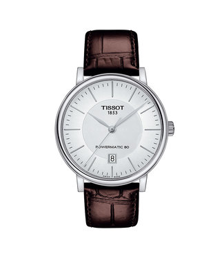 Tissot Carson Premium Powermatic 80 heren horloge T1224071603100