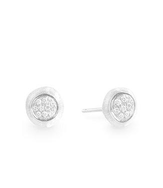 Marco Bicego oorbellen Jaipur Diamonds white gold OB1035 B W-02