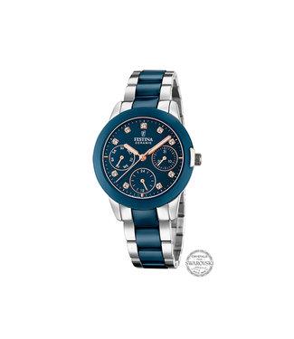 Festina Ceramic dames horloge F20497/2