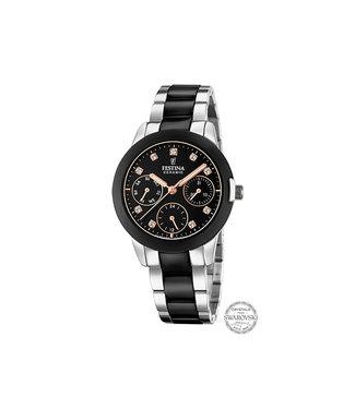 Festina Ceramic dames horloge F20497/3