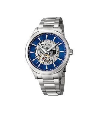 Festina Classic Automatic Skeleton heren horloge F20536/3