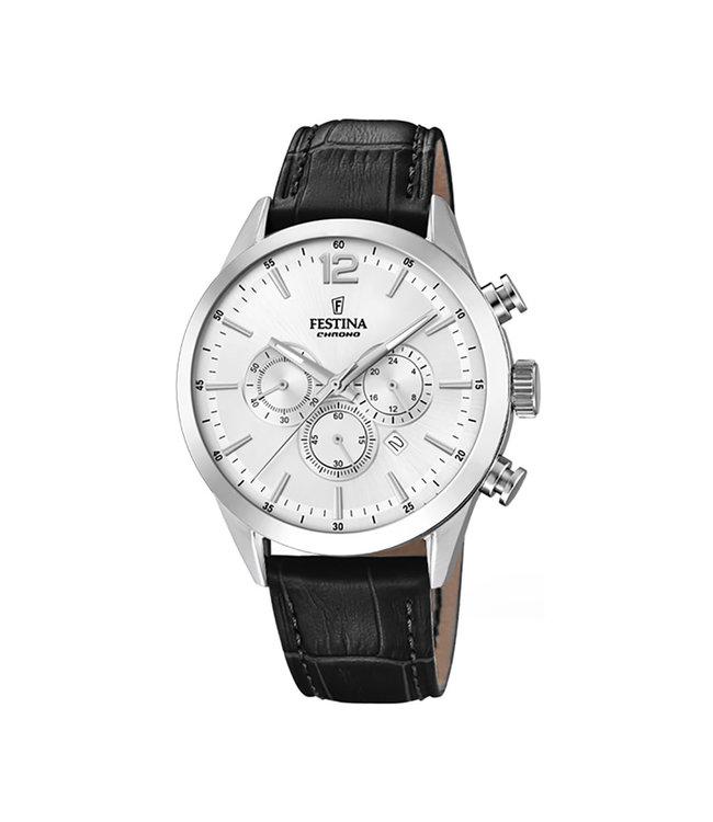 Festina Timeless Chronograph heren horloge F20542/1