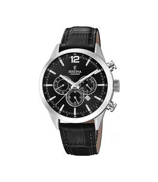 Festina Timeless Chronograph heren horloge F20542/5