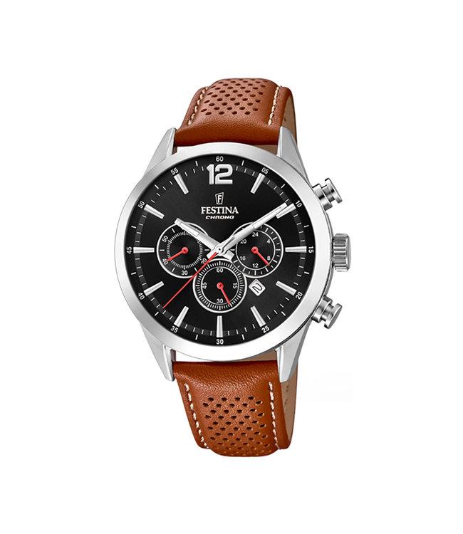 Festina Timeless Chronograph heren horloge F20542/6