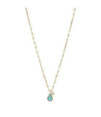 Fossil ketting Fashion Tranquil Summer JF03734710