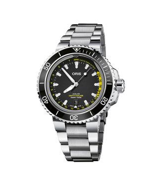 Oris Aquis Depth Gauge Automaticheren horloge 0173377554154-SET MB