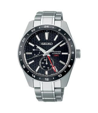Seiko Presage Automatic Sharp Edged GMT SPB221J1