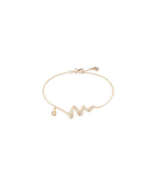 Willems Creations armband 18kt roosgoud R8208BB5