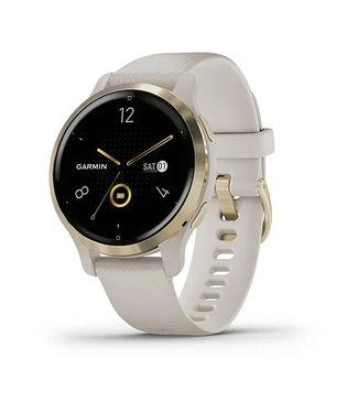 Garmin Venu 2S, GPS, Wi-Fi, Tundra Champagne 010-02429-11