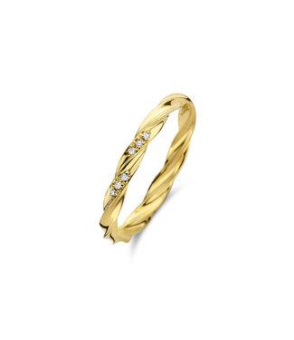 Diamanti Per Tutti Fate ring gold M1826-3S5