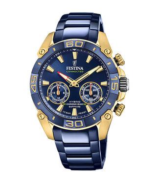 Festina Chrono Bike Hybrid Connected heren horloge F20547/1