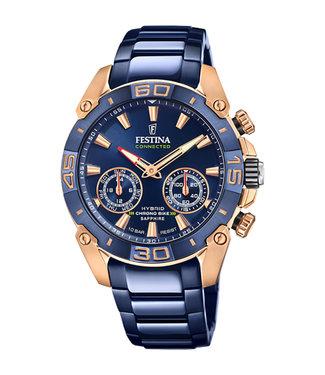 Festina Chrono Bike Hybrid Connected heren horloge F20549/1
