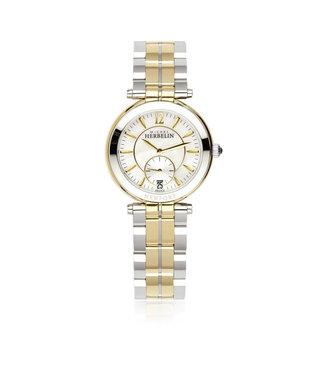 Michel Herbelin Newport bicolor dames horloge 18384/BT19
