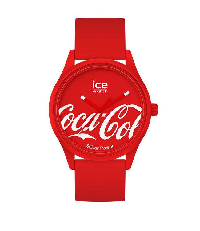 Ice Watch Ice Solar Power - Coca Cola - Red - Medium 018514