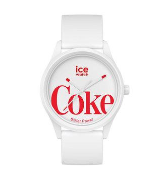 Ice Watch Ice Solar Power - Coca Cola - White - Medium 018513