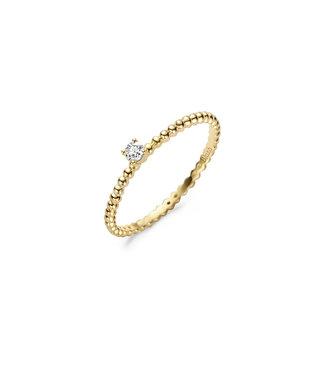 Blush ring 14kt geelgoud 1215YZI