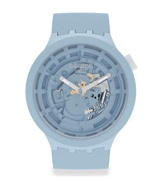 Swatch Big Bold Bioceramic C-Blue SB03N100
